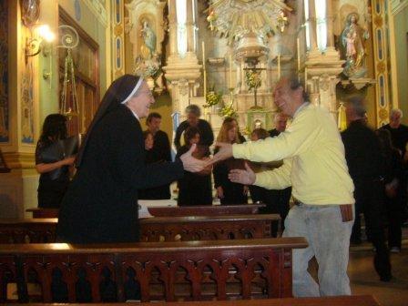 HUGO CASTRO y la HNA PROVINCIAL EN CONCIERTO