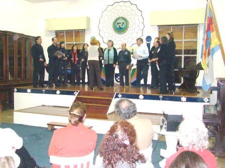 06-07-07 Coro Municipal ARENAS  de Salliqueló. Dirige Gabriela Ruffinatti.