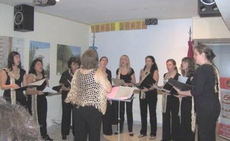 08-09-07 *Grupo Vocal Anhelo  Dir.: Concepción Gabaglio de Junod