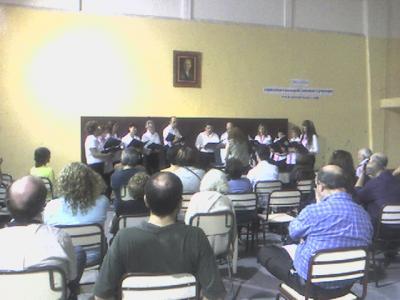 Sonidos del Centro Cultural Baldomero Fernandez Moreno Dir: Carmen Caffa